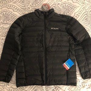 Columbia down jacket